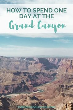 This Grand Canyon itinerary will help you plan one perfect day at the South Rim of Grand Canyon National Park, with ideas for where to hike and watch the sunset. #GrandCanyon #Arizona #Travel #TravelTips #Wanderlust #Bucketlist #GrandCanyonsouthrim