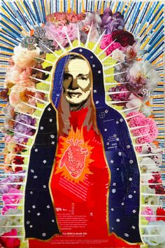 WILLIE DE GUADALUPE -- 24 x 16in -- Mixed Media on Board -- CONTACT: annegenung@gmail.com