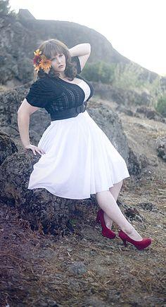 Keri Atkins...plus size summer dress