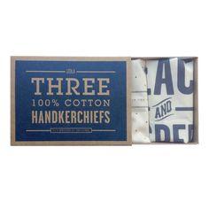 Stars Handkerchief Set Of 3