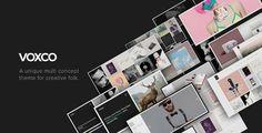 Voxco - Responsive Multi Concept Theme For Creatives - Creative WordPress