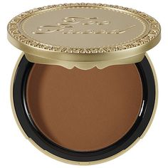 DARK CHOCOLATE! Soleil Matte Bronzer - Too Faced | Sephora