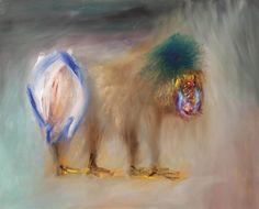 Sidney Nolan (Australian, Ape, Oil on board, 121 x 151 cm. Canvas Art For Sale, Art Paintings For Sale, Original Paintings For Sale, Artist Painting, Figure Painting, Artist Art, Painting & Drawing, Australian Painters, Australian Artists