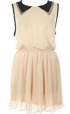 Collar Coquette Dress