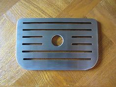 KRUPS XP1020 Espresso Machine Metal Drip Tray Base Replacement Part Used