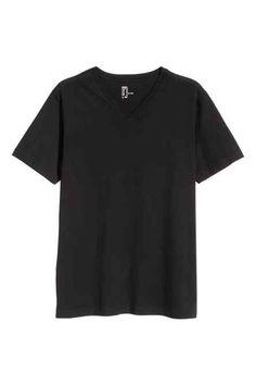 T-shirt de decote em V