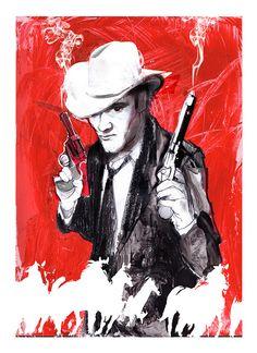 Quentin Tarantino by Zé Otavio, via Flickr