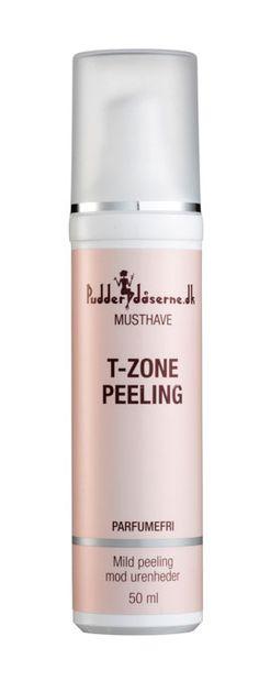 Mild eksfoliering med 2% salicylsyre i en effektiv ph-værdi. Modvirker hudorme, urenheder og mindsker porer. Salicylsyre har anti-inflammatoriske og anti-bakterielle egenskaberT-Zone peeling med 2% BHA er en vandbaseret formel, der eksfolierer hudens overflade, renser porerne og forbedrer h