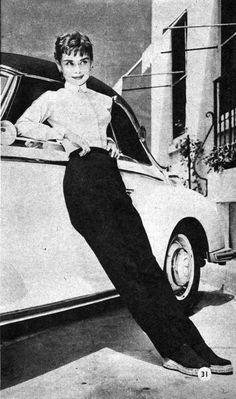 Rare Audrey Hepburn — audreyandgivenchy: Rare photographs taken of...