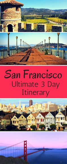 Top Attractions in San Francisco, California; discover the ultimate San Francisco bucket list! Travel in the USA.