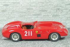 Ferrari 410S Spyder Scaglietti 1957 - Riverside 1957 #211 - Richie Ginther - Alfa Model 43