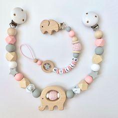 20 Hexagon Silikon Kinderkrankheiten Perlen Baby Schmuck Halskette Beißring Nua