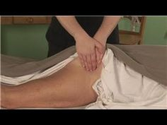 Massage techniques for sciatica.