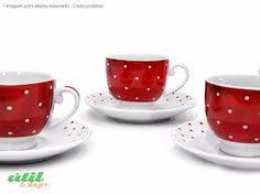 Resultado de imagem para aparelho de cafe vermelho