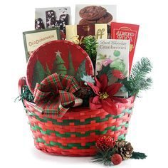 Seasons Best Christmas Gift Basket @ Design It Yourself Gift Baskets Best Christmas Gift Baskets, Personalized Christmas Gifts, Christmas Gifts For Kids, Christmas Mugs, Diy Christmas Ornaments, Holiday Gifts, Christmas Wreaths, Christmas Decorations, Boyfriend Gift Basket