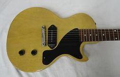 2001 Gibson Les Paul Junior Jr Custom Shop Historic TV Yellow Single Cutaway   eBay