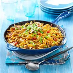 Family-Favorite Cheeseburger Pasta and other one pot wonders