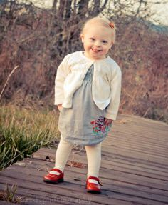 an amazing letter by a mother about her little daughter with Down syndrome...walk for a moment in her shoes...