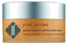 june jacobs perfect pumpkin peeling enzyme masque...nice skincare treatment for Fall!