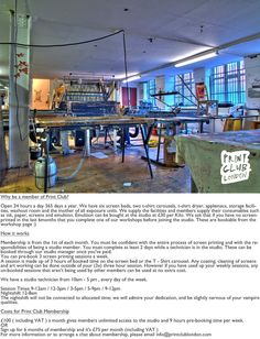 About Print Club London studio  every one must take a look at this place and its associate office studio