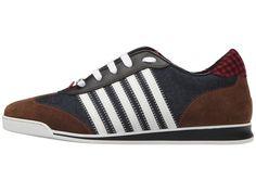 DSQUARED2 New Runner Sneaker Men's Shoes Blue/White