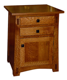 Amish Arts & Crafts End Table