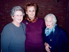 Annette Golman Jayson, Ruth Andres and Frances Garber