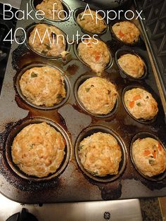 Eat Clean: Turkey & Egg White Breakfast Muffins - Collecting up my prior pins here for re-casting on new boards. Clean Eating Breakfast, Breakfast Muffins, Breakfast Recipes, Eating Clean, Savory Muffins, Healthy Eating, Breakfast Ideas, Healthy Foods, How To Eat Paleo