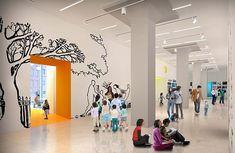 kids museum exhibit / environmental graphics