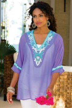 Beaded Tunic from Soft Surroundings