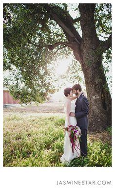 Ojai Wedding Photos in a Teepee