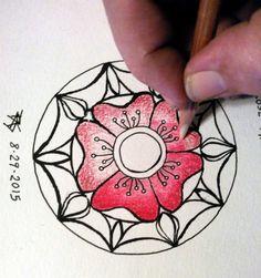 8-29-2015 Rose Mandala Illo 3 Colorless Blender