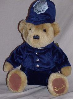 Harrods Police Teddy Bear Stuffed Animal Plush Toy Knightsbridge London 12 Home Design Ideas