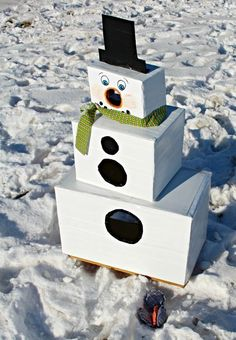 snowman toss 2