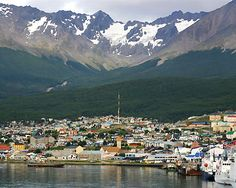 Ushuaia, the end of the world.