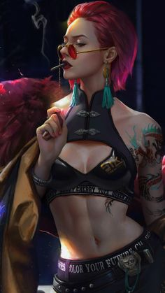 Cyberpunk 2077, Cyberpunk Girl, Arte Cyberpunk, Cyberpunk Fashion, Female Character Design, Character Design Inspiration, Character Art, Character Concept, Sci Fi Characters