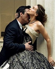 "Sarah Jessica Parker and Chris North: Vogue US July 2008, by Annie Leibovitz--please don't insult an actor with talent by calling him reality trash ""North""--we've all had enough of them."