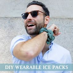 Beat The Heat This Summer With These DIY Wearable Ice Packs This would also be a good way to reduce fever