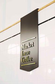 Black = posit note with lettering cafe signage, directional signage, wayfinding signs, Shop Interior Design, Cafe Design, Retail Design, Store Design, Nordic Interior, Cafe Signage, Retail Signage, Environmental Graphic Design, Environmental Graphics
