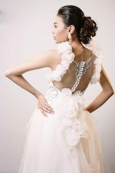 Jamie Go Wedding Gown Bridal wear 2014 Back details Bridal Gowns, Wedding Gowns, Bridal Collection, How To Wear, Fashion, Bride Dresses, Homecoming Dresses Straps, Moda, Fashion Styles