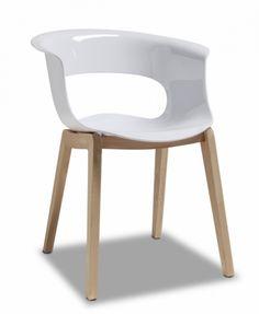 Miss B Natural / Дизайнерски столове - Столове от PVC и дърво / Градинска мебел - шезлонги, столове и други мебели за вашата градина от Кейс ООД