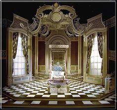Imaginary Invalid  by Moliere - Set Design by Richard Finkelstein, Stage Designer