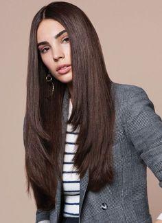 Haircuts For Long Hair With Layers, Haircuts Straight Hair, Curly Hair Cuts, Long Layered Hair, Layered Haircuts, Long Hair Cuts, Curly Hair Styles, Women Haircuts Long, Summer Haircuts