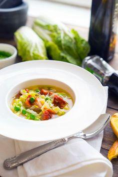 Суп-бульон с грудинкой и пекинской (савойской) капустой, пошаговый рецепт с фото, блог и интернет-магазин andychef.ru