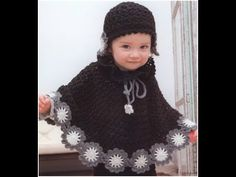 VERY EASY crochet cardigan / sweater / jumper tutorial - baby and child sizes 36 - YouTube