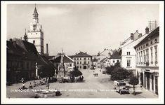 Ivančice - náměstí 1936 Paris Skyline, Travel, Viajes, Destinations, Traveling, Trips