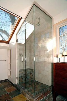 Small Bathroom Designs Slanted Ceiling sloped ceiling bathroom design ideas, pictures, remodel and decor