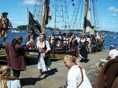 Pirate Days- Alexandria Bay, NY    August 10-19  2012