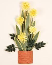 punch craft flower baskets - Google Search