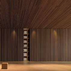 63 New Ideas for yoga studio lobby interior design Yoga Studio Design, Timber Slats, Wood Cladding, Lobby Interior, Bathroom Interior Design, Sound Room, Wood Architecture, Japanese Interior, Wood Ceilings